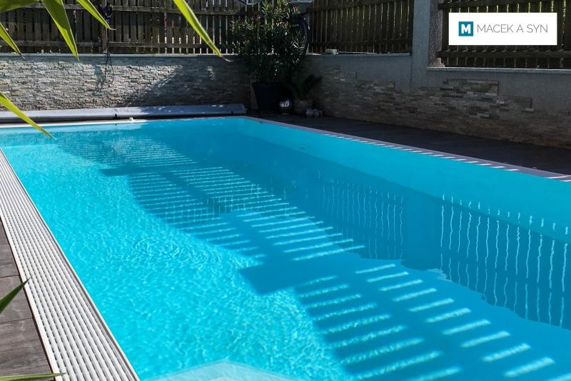 Schwimmbecken 3,5 x 6,5 x 1,5m, Hallwang, Österreich, Realisierung 2018