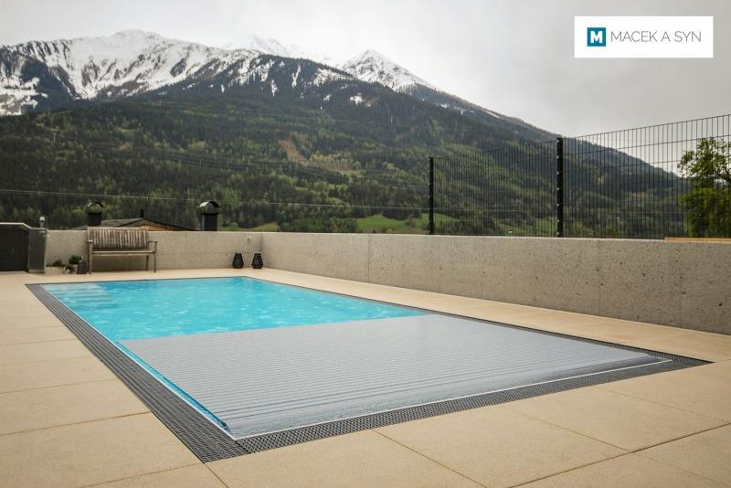 Schwimmbecken 3,4 x 8,5 x 1,4m, Silz, Österreich, Realisierung 2019