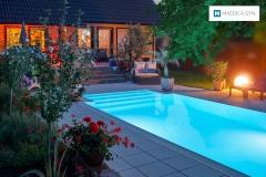Schwimmbecken 3,2x6x1m,  Langendorf, Sachsen, Deustchland, Realisierung 2012